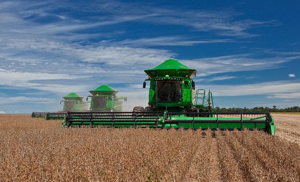 La Serie S de cosechadoras John Deere es más PRODUCTIVA, porque incrementa un 15% la cantidad de hectáreas cosechadas por día.