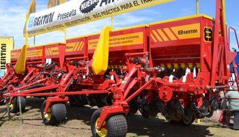 Cayeron las exportaciones argentinas de sembradoras