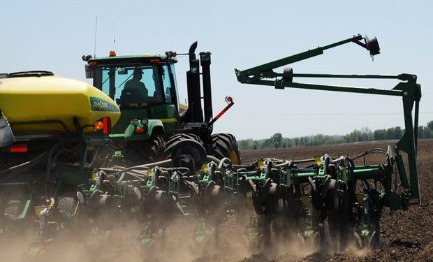 Estado de cultivos en Estados Unidos.