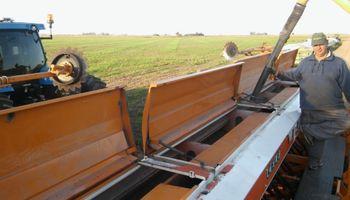 La revancha del trigo pone primera: imágenes del arranque de la siembra