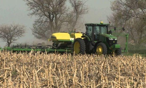 Suba en el área sembrada de maíz, trigo y soja en EE.UU.