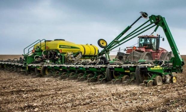 El progreso de la siembra de soja en Estados Unidos que ya cubre el 56% del territorio.