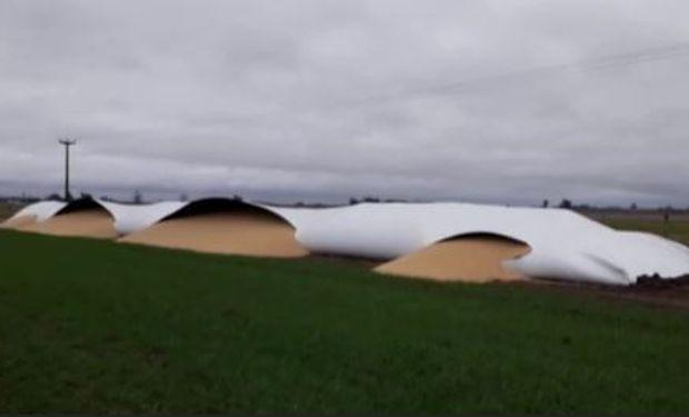 La rotura de los silos en Chivilcoy