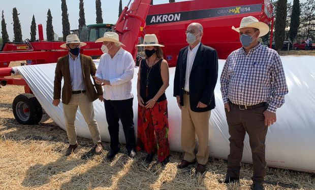 """México quiere usar más silo bolsas argentinos: """"Tenemos un enorme camino por recorrer"""""""
