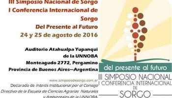 El tercer Simposio Nacional de Sorgo ya tiene fecha