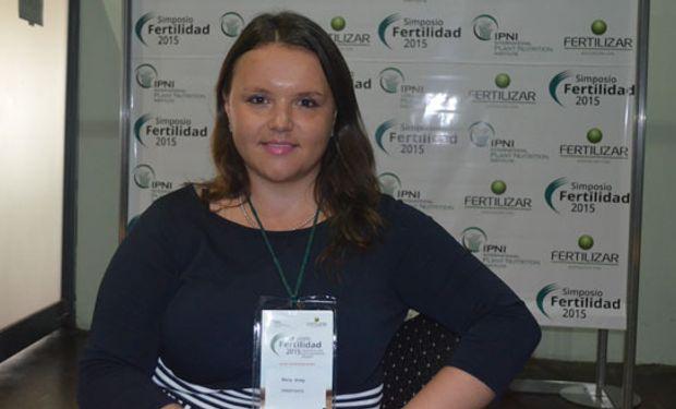 """Maria Antip: """"La inversión en la agricultura posee el doble de potencial para reducir la pobreza que cualquier otro sector""""."""