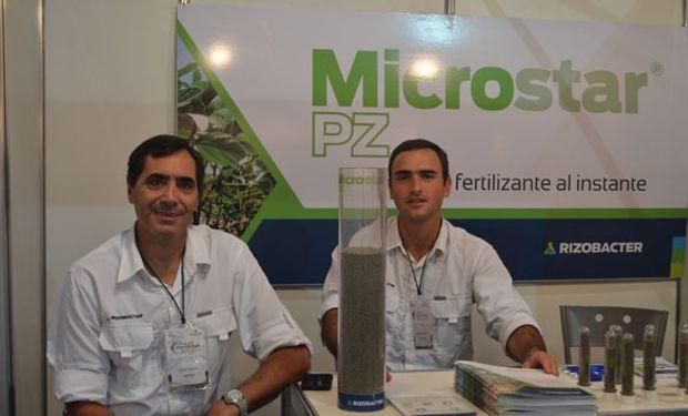 Rizobacter presentó Microstar, un fertilizante microgranulado a base de fósoro.