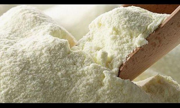 Récord mensual de exportaciones de leche entera en polvo