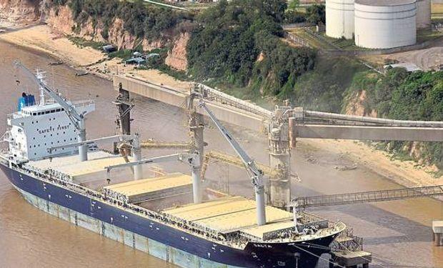 Solo un 15% de la soja de Bolivia se exporta desde los puertos rosarinos.