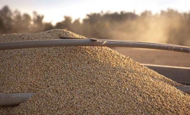 Hasta ahora, la cosecha de soja muestra altos números de rendimiento el cual oscila en promedio en torno de los 4,5 a 4,3 toneladas por hectárea.