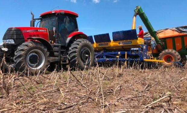 Comenzó la siembra de soja en Brasil.