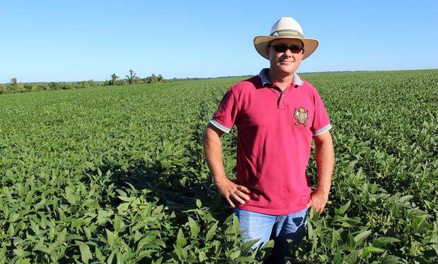 En su salsa. Marcos Portz, productor en la zona de Katueté (Paraguay), logró rindes de más de 3.800 killos por hectarea la campaña pasada.