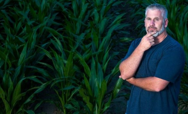Randy Dowdy, agricultor de Georgia, Estados Unidos.