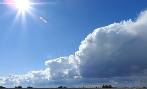 El jueves podrían registrarse lluvias en la zona, pero insuficientes.
