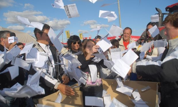 Para participar del concurso los concurrentes a AgroActiva deberán completar el cupón que se les entregará al ingresar al predio.