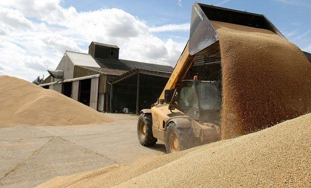 stocks internacionales de granos: 455 millones de toneladas.