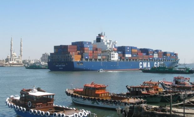 Puertos egipcios y Canal de Suez operan con normalidad
