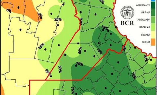 Reservas pradera al 04/12/14. Fuente: BCR