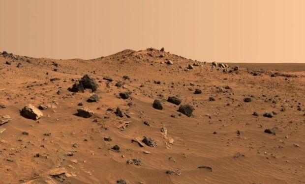Hostil: la superficie de Marte no permite desarrollar cultivos.