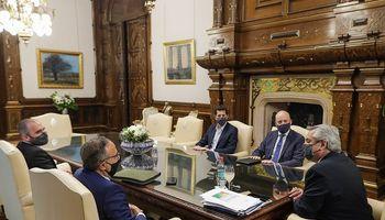 Antonio Aracre, de Syngenta, visitó al Presidente: de qué hablaron