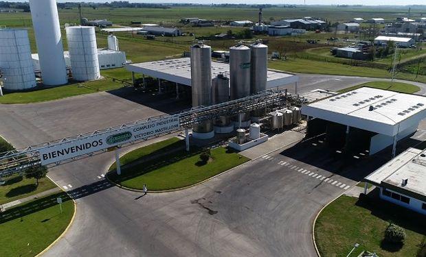 La planta de La Serenísima en Trenque Lauquen, que compra leche a productores de la región