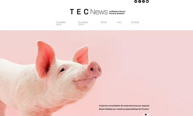 Lanzan una Biblioteca Técnica Virtual dedicada exclusivamente a la nutrición animal