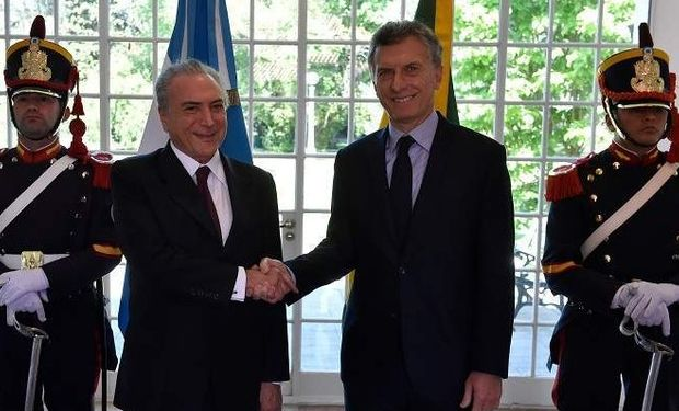 Hoy será la visita oficial del presidente argentino.