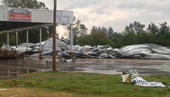 Intensas tormentas afectaron varias regiones