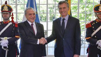 Macri y Temer discutirán el estatus del azúcar en el acuerdo comercial del Mercosur