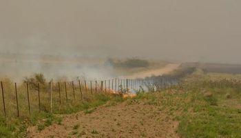 En La Pampa hay 2,4 millones de hectáreas en riesgo de incendios