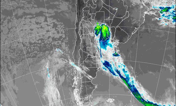 Alerta por tormentas en la región.