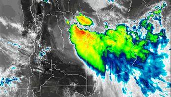 Se renovó el alerta por tormentas: se esperan hasta 160 mm en las zonas alcanzadas