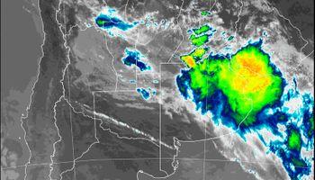 Alerta del SMN: tormentas fuertes con ráfagas alcanzan a 6 provincias del centro