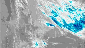 Se renovó el alerta por abundantes precipitaciones en el Litoral