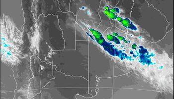 Hasta la medianoche: qué dice el alerta por tormentas del Servicio Meteorológico Nacional