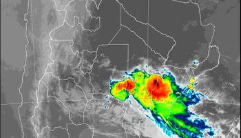 Alerta del SMN por fuertes tormentas se traslada al norte