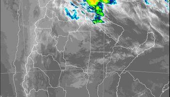 El SMN alerta por tormentas fuertes sobre regiones puntuales del norte