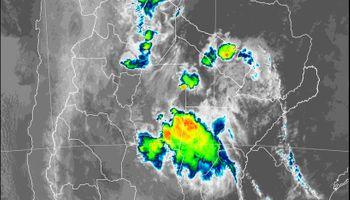 Lluvias y tormentas se concentran sobre áreas del norte del país