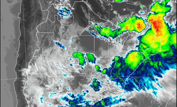 Se renovó el alerta por tormentas fuertes: se esperan hasta 60 milímetros en zonas puntuales