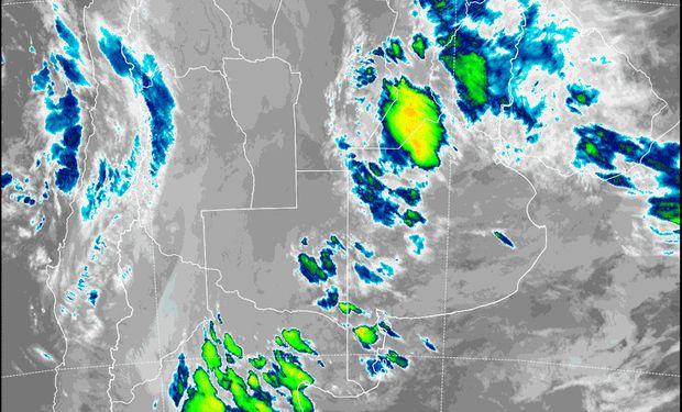 Alerta del SMN por lluvias y tormentas.