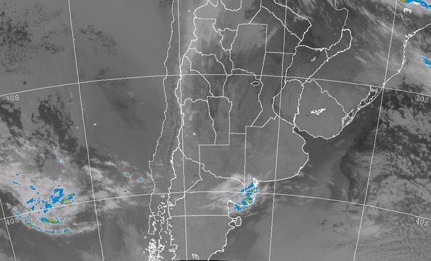 Con aportes muy modestos, podrían regresar las lluvias entre martes y miércoles de la semana próxima a sectores del centro de SF y ER.