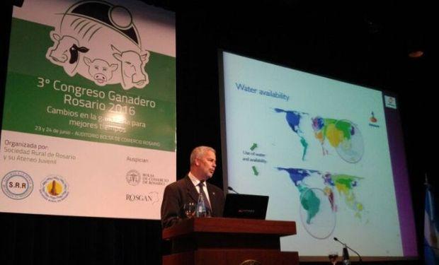 Vicepresidente del IPCVA, Jorge Torelli, en el Congreso Ganadero.
