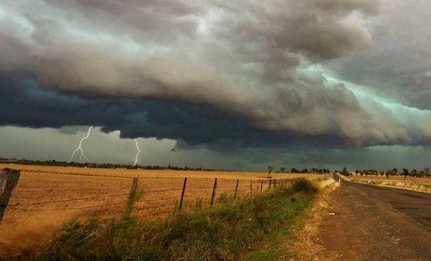 Alerta por tormentas en Buenos Aires y La Pampa