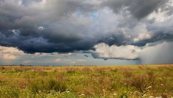 Alerta por lluvias y tormentas en zona centro