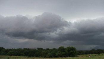 Alerta por tormentas en la franja central
