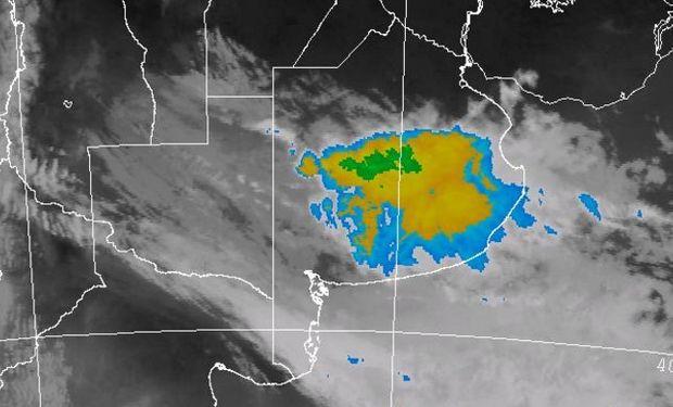 Tormentas fuertes en la provincia de Buenos Aires.