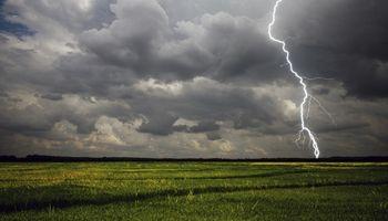 El Servicio Meteorológico Nacional alerta por tormentas fuertes para gran parte del país