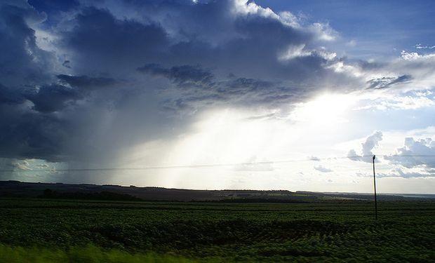 El domingo se prevén tormentas sobre la región central