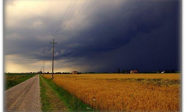 Lluvias y tormentas de variada intensidad