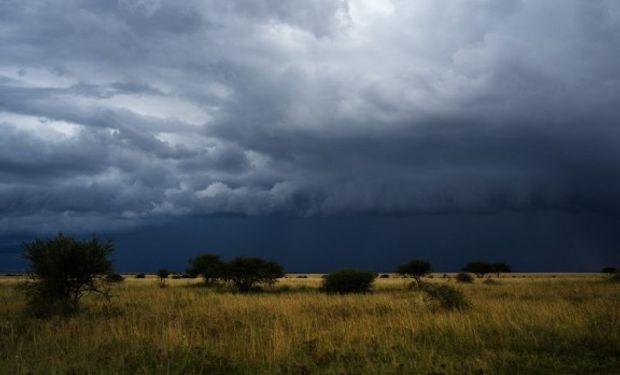 Alerta por probables tormentas fuertes del SMN.